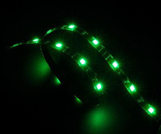 Akasa AK-LD02-05GN LED pásik, 60 cm, zelená