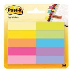 Post-It Záložky papierové 12,7x44,4mm