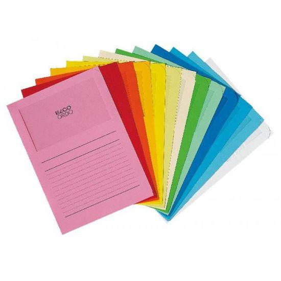 Elco Zakladacie zložky s okienkom ORDO mix farieb