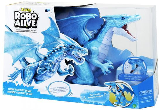 EP Line Robo alive drak modrý - rozbaleno