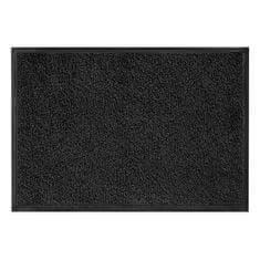 FLOMA Antracitová vnitřní vstupní čistící pratelná rohož Magic - 75 x 85 cm