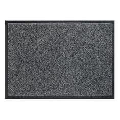 FLOMA Šedá vnitřní vstupní čistící pratelná rohož Magic - 75 x 85 cm