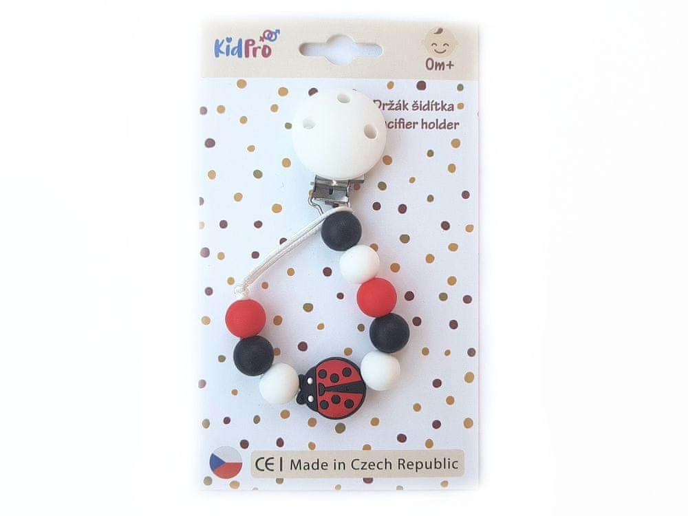 KidPro Klip na dudlík: Ladybug
