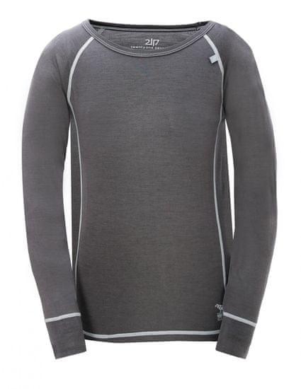2117 Ullånger Jr otroška termo majica, temno siva