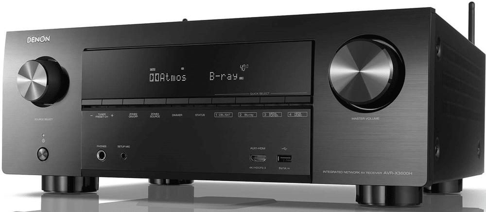Denon AVR-X3600H, černá