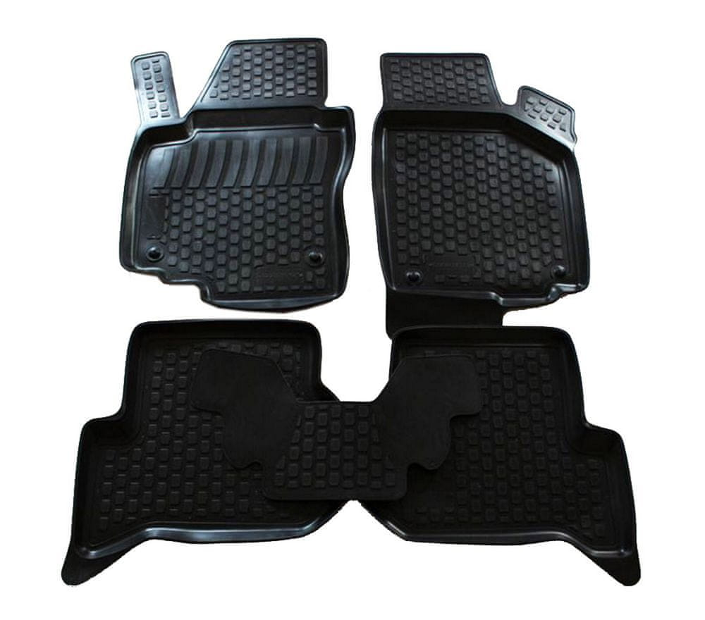 J&J Automotive Gumové koberce Seat Altea XL 2006 -