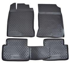 J&J Automotive Gumové koberce se zvýšeným okrajem Renault Laguna III 2007-2014