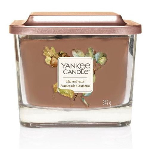 Yankee Candle Aromatická svíčka střední hranatá Harvest Walk 347 g