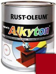 Rust-Oleum Alkyton hladký, RAL9003 Biela signálna lesklá, 0,25 l