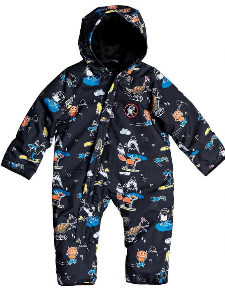 Quiksilver chlapecká kombinéza Baby suit 86 černá