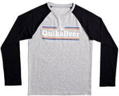 Quiksilver chlapecké tričko Get buzzy ls 170 šedá