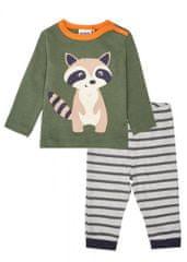 WINKIKI pidžama za dječake, 80, khaki/gray melange