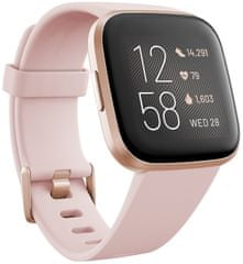 Fitbit Versa 2 (NFC), Petal/Copper Rose