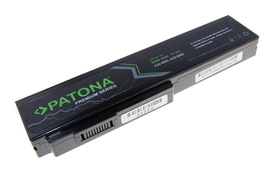 PATONA Baterie PREMIUM pro notebooky ASUS, A32-M50, 5200 mAh, Li-Ion, 11,1 V (PT2330)