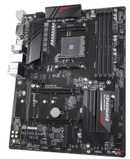 Gigabyte B450 GAMING X, DDR4, SATA3, USB 3.1 Gen1, AM4, ATX matična ploča
