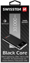 SWISSTEN Black Core Power Bank 30 000 mAh 22013929