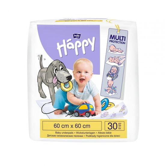 Bella Happy Dětské přebalovací podložky 60x60 cm - 30ks