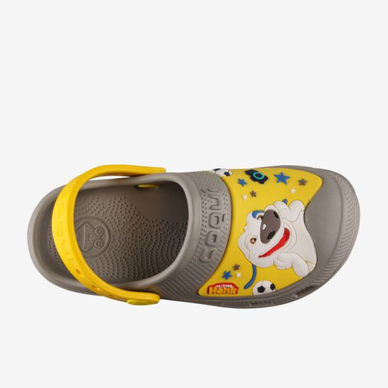 Coqui MAXI Talking Tom & Friends Mid. fantovski sandali Grey/Yellow