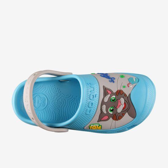 Coqui MAXI Talking Tom & Friends fantovski sandali New blue/Stone