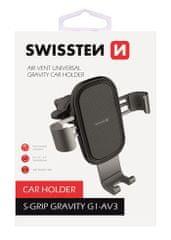 SWISSTEN držalo za telefon za avtomobilsko režo S-GRIP G1-AV3, 65010602