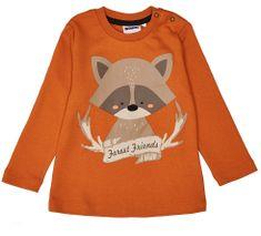 WINKIKI majica za dječake, 80, narančasta