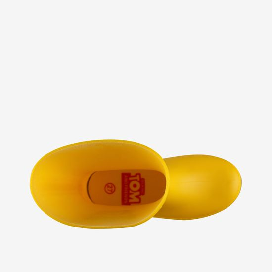 Coqui Rainy Talking Tom & Friends dekliški škornji Yellow/Antracit