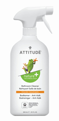 Attitude Čistič na koupelny s vůní citronové kůry s rozprašovačem 800 ml