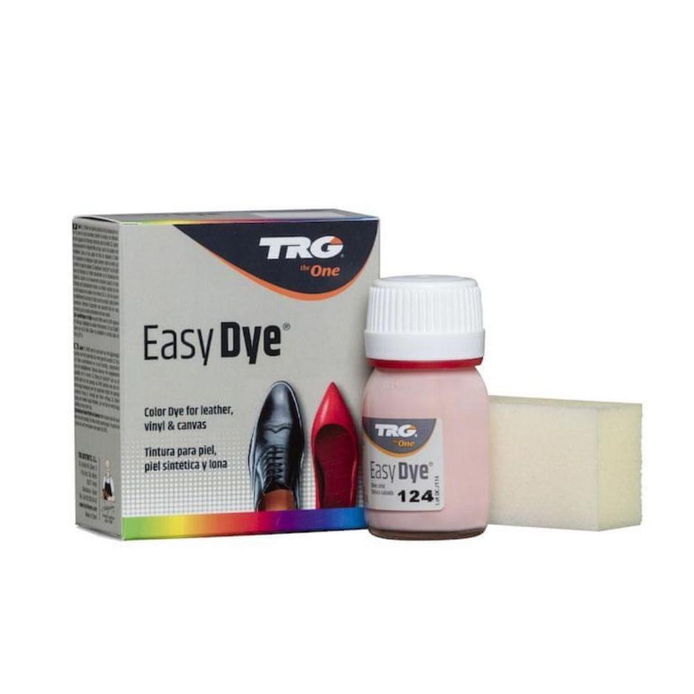 TRG One Barva na kůži, koženku a obuvnické plátno EasyDye - Růžová 124 Rose