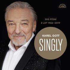 Gott Karel: Singly - 300 písní z let 1962-2019 (15xCD) - CD
