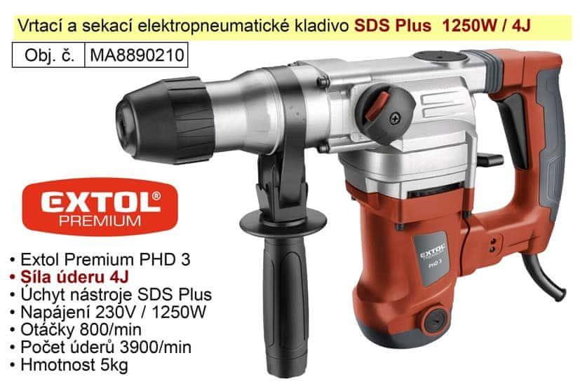 Extol Premium Kladivo vrtací a sekací SDS Plus Extol Premium 8890210