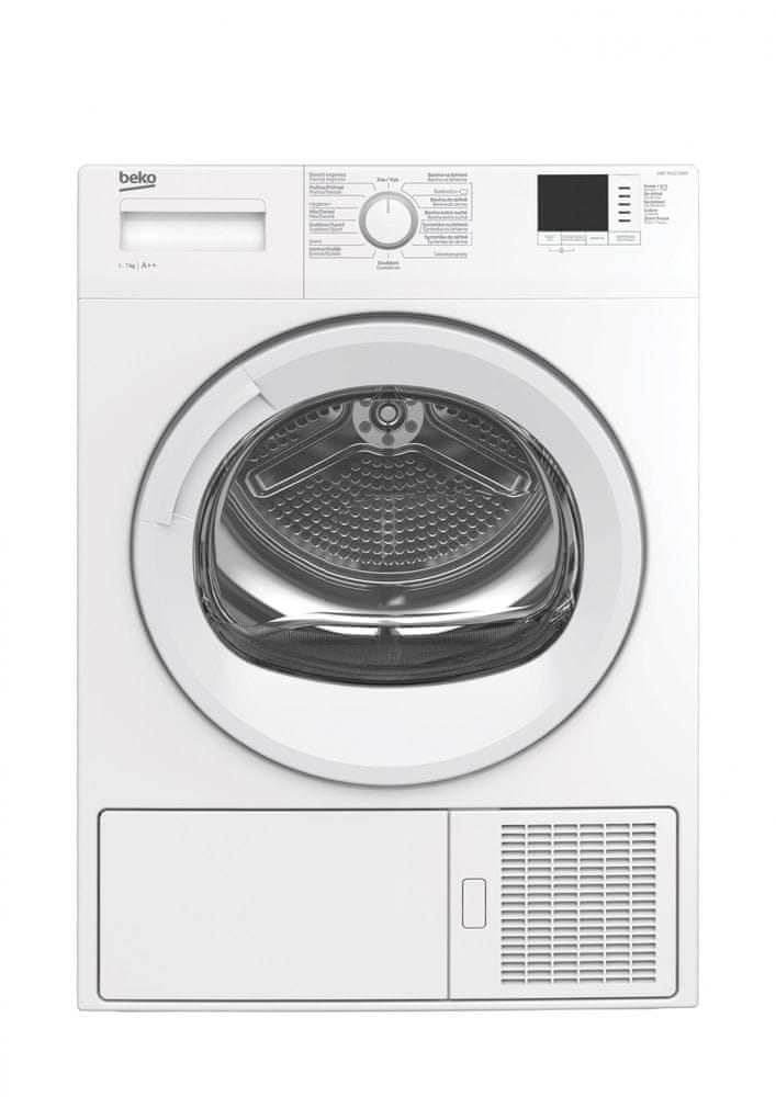 Beko sušička prádla HDF7412CSRX - zánovní