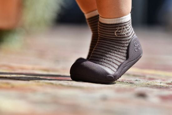 Attipas otroški čevlji Forest Brown