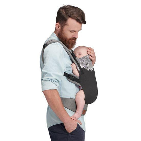 KinderKraft nosilka MILO, črna
