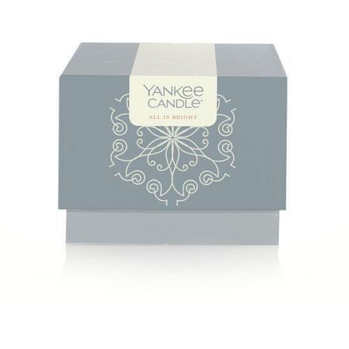 Yankee Candle Vonná svíčka 198 g All Is Bright v dárkovém balení - limitovaná edice!
