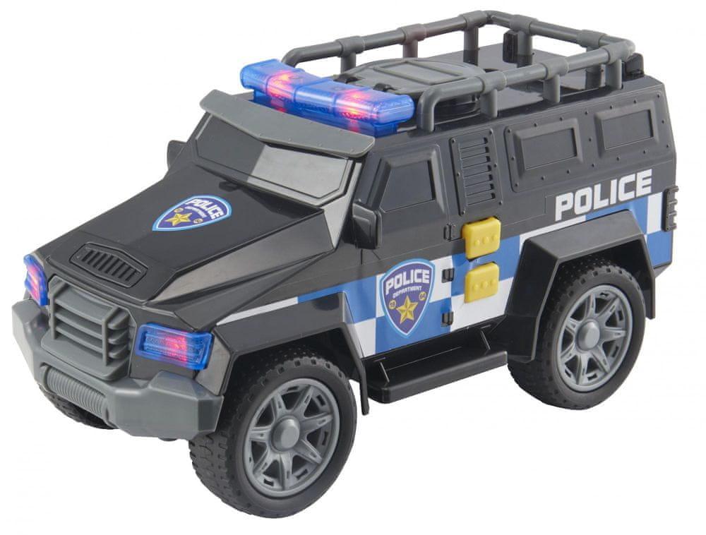 Alltoys Teamsterz vojenské auto se zvukem a světlem