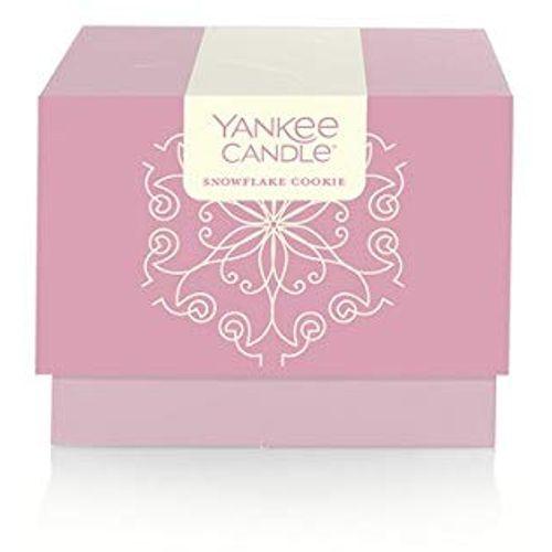 Yankee Candle Vonná svíčka 198 g Snowflake Cookie v dárkovém balení - limitovaná edice!
