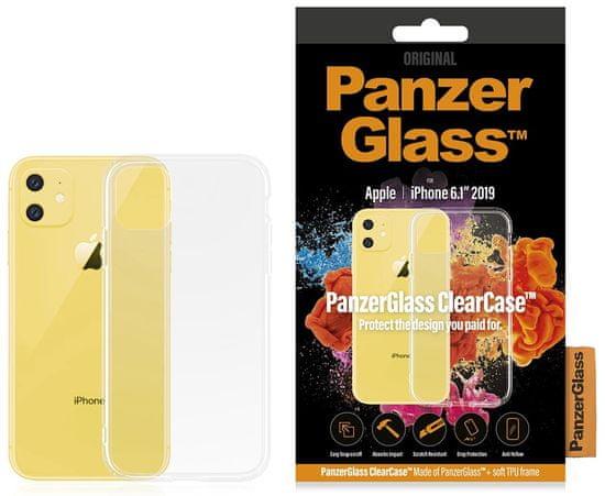 PanzerGlass ClearCase ovitek za Apple iPhone 11, prozoren - Odprta embalaža