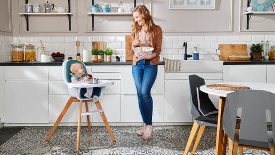KinderKraft jedilni stol 2v1 TIXI