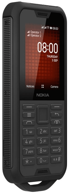 Nokia 800 Tough, Black Steel - zánovní