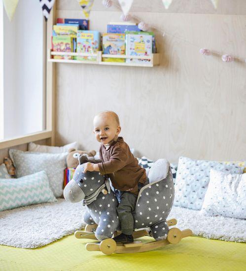 KinderKraft otroški konj za zibanje Kinderkraft