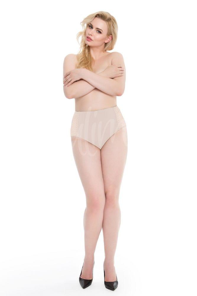 Julimex Dámské kalhotky Julimex Opal Panty béžová XL