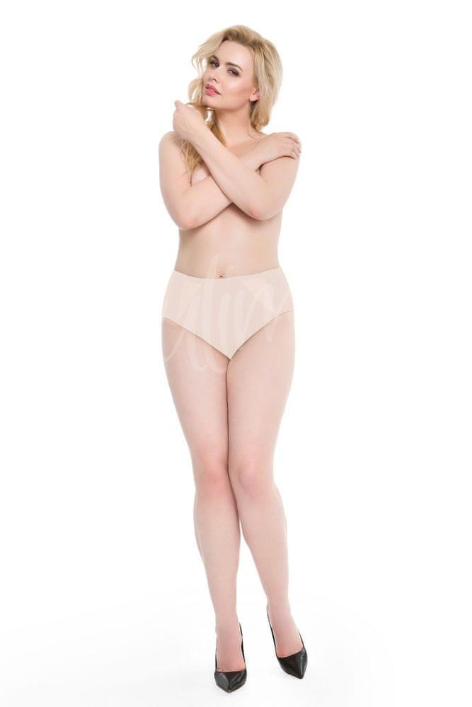 Julimex Dámské kalhotky Julimex Pearl Panty béžová XL