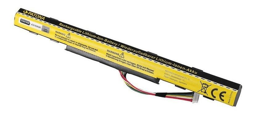PATONA Baterie pro notebooky ACER Aspire E15, 2200 mAh, Li-Ion, 14,6 V, AS16A5K (PT2805)