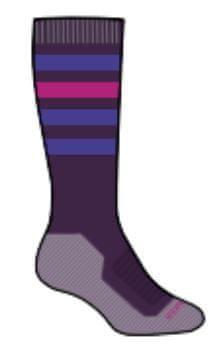 Icebreaker dětské lyžařské MERINO ponožky SKI 27 - 29 fialová