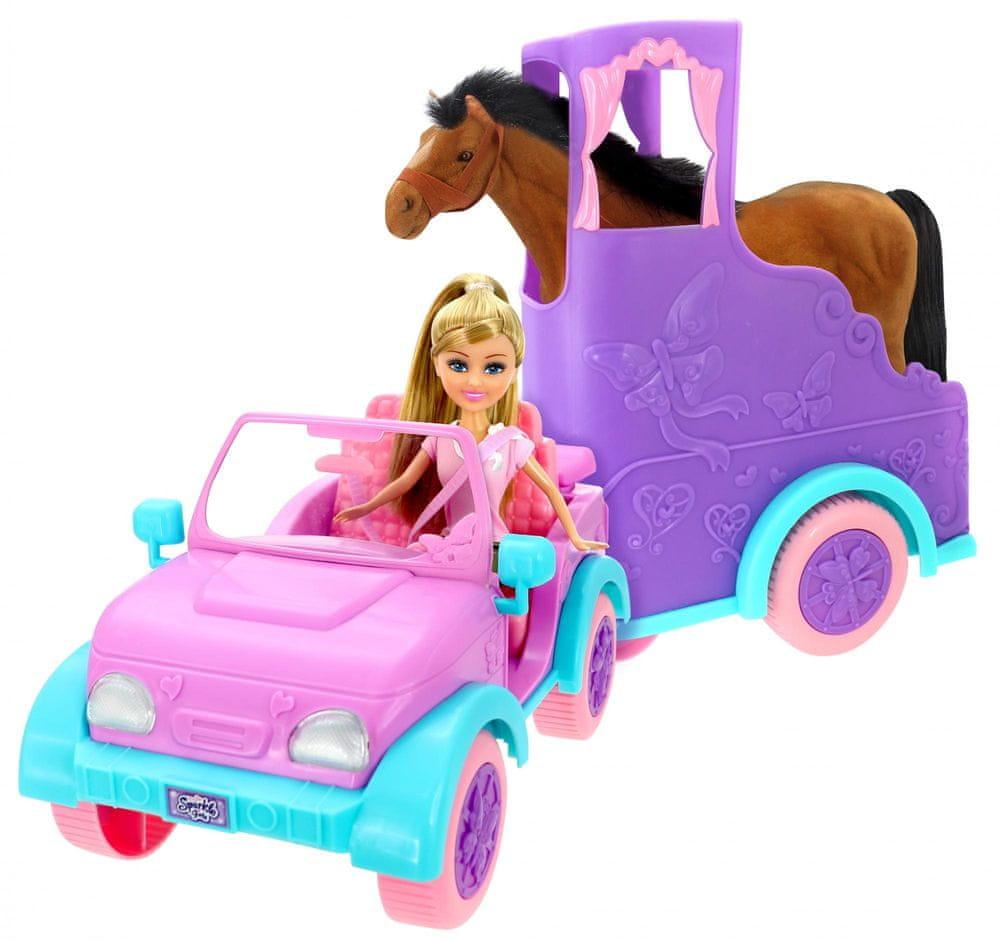 Alltoys Přívěs pro koně Sparkle Girlz