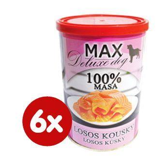 FALCO MAX deluxe losos kousky 6x400g