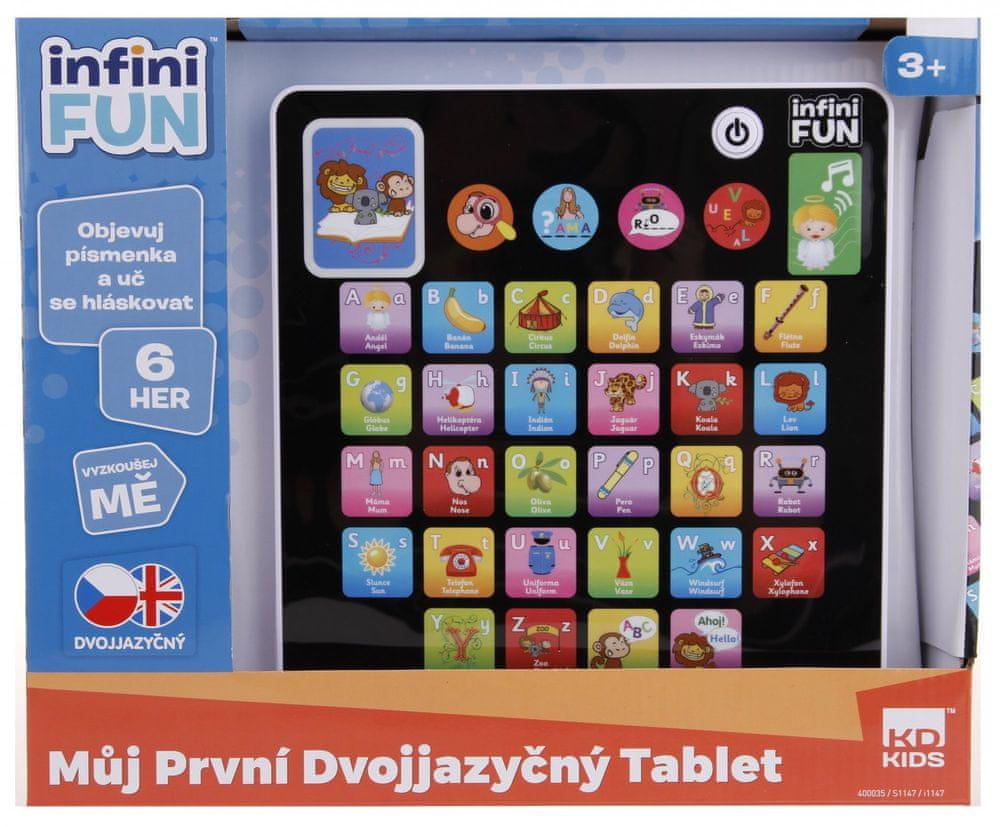 Alltoys Můj první dvojjazyčný tablet