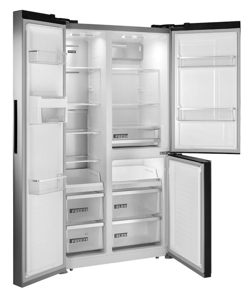 Concept americká lednička LA7791ss