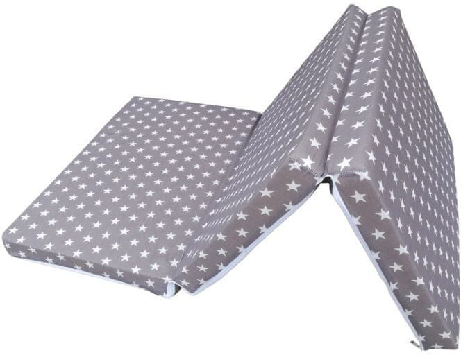COSING skládací matrace 6 cm - Hvězdy