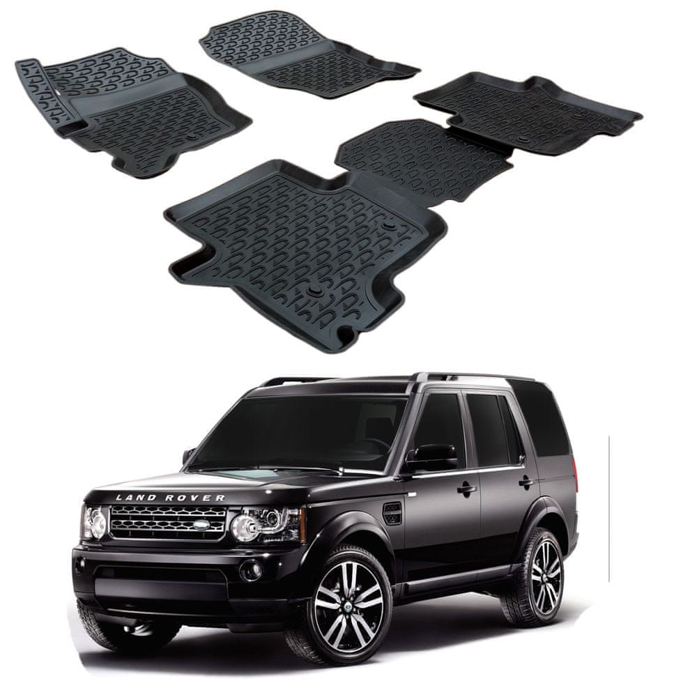 SCOUTT Gumové koberce 3DS SCOUTT Land Rover Discovery 3 / 4 2005 - 2017